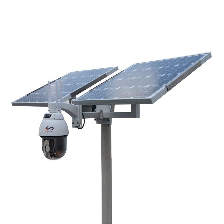 120W 40AH Solar Power System kit for hikvision dahua ptz camera 2