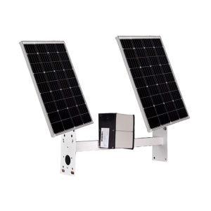 200W 60AH Solar Power System for 4G WIFI camera